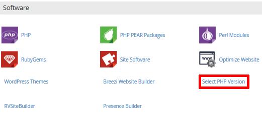 wybór PHP